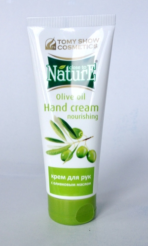 Крем для рук Hand Cream Nourishing CLOSE to NATURE with Oil Olive